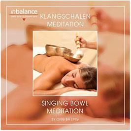 Klangschalen Meditation-Singing Bowl Meditation