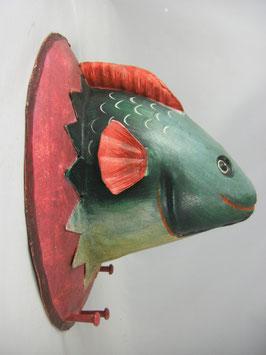 "Trophäe""Fisch"" aus  Metall"