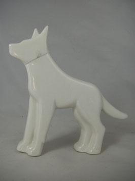 """Deco Hund Groß """"Schäferhund"""" Porzelan"""