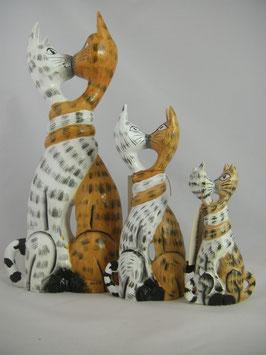 Küssende Katze Größe S,M oder L