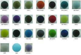 400 Cotton Balls -   400 s. Foto
