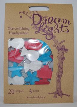 Dream Lights Marine Blau/Weiß/Rot
