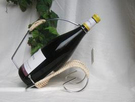 """""""Buggy""""   Burgunderkorb - Weinflaschenhalter"""