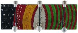3er Wandhaken - Garderobenhaken Belt