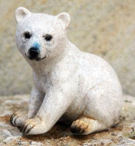 """""""Polarbär Baby sitzend"""""""