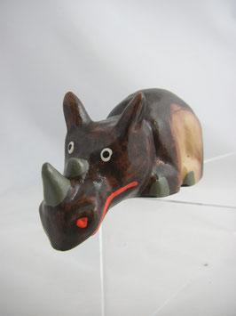 Figur Nashorn Mini-Kantenhocker