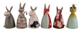 ZaunHocker Esel,Katze,Kuh,Maus oder Frosch