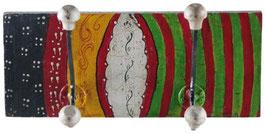 2er Wandhaken - Garderobenhaken Belt