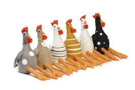 Kanternsitzer Huhn 25 cm 6 fach sortiert