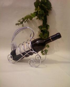 """""""Henry""""  Weinflaschenhalter - auch aus Metall"""