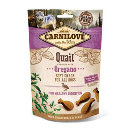 Carnilove Dog Soft Snack - Quail with Oregano 200g