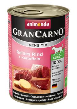 "GranCarno® Sensitiv Adult ""Reines Rind + Kartoffeln"" 400g"