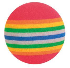 Trixie Rainbow-Bälle, Schaumstoff