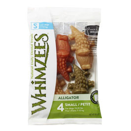 Whimzees Alligator S 4 St. 15g VEGAN