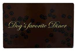 """TRIXIE Napfunterlage """"Dog's favorite Diner"""""""
