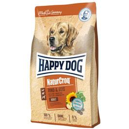 Happy Dog NaturCroq Rind & Reis 1kg