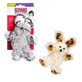 KONG Cat Softies Fuzzy Bunny (mit Katzenminze)