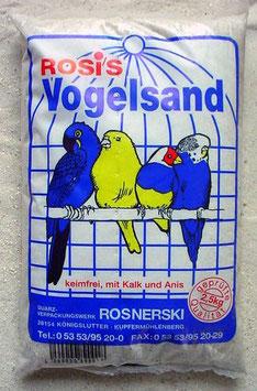 Rosis Vogelsand 2,5 kg