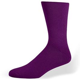 Herrensocken, violett