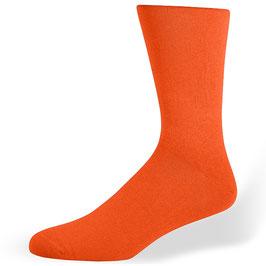 Herrensocken, orange