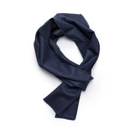 Gewebter Wollschal, Vitale Barberis, blau
