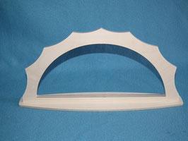 Schwibbogen Rahmen für Klöppel oder Stickbilder in Breite 35,5 cm Höhe 16cm