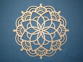 Großes schönes und filigranes Mandala Nr. 3 aus Holz mit 28cm Durchmesser als Wandtatto
