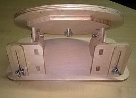 Tischklöppelständer dreh- und mehrfach neigbar