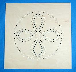 Stuhlplatte Ovales Muster