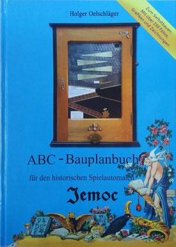 Bauanleitung zum historischen Spiel Automat JEMOC Baubuch ABC Bauplanbuch DIY