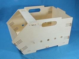 Universal Stapelkiste Box aus Multiplex Holz Obst Kartoffeln Zwiebeln Lager