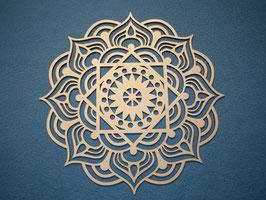 Großes schönes und filigranes Mandala Nr. 1 aus Holz mit 28cm Durchmesser als Wandtattoo
