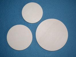 Kreisscheibe aus  6 mm Pappelsperrholz