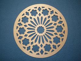 Großes schönes und filigranes Mandala Nr. 4 aus Holz mit 28cm Durchmesser als Wandtattoo