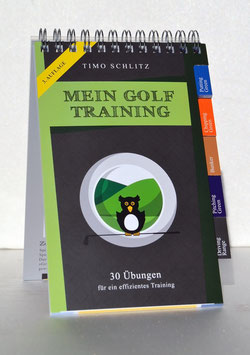 Booklet: Mein Golf Training - 30 Übungen