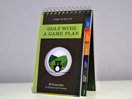 Training Plan Book: Golf with a Game plan