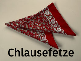 Chlausefetze, rot