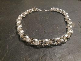 Silberkette (Breitbandglieder)