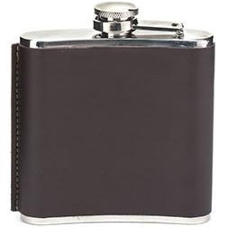 Flachmann LEATHER FLASK, 177ml