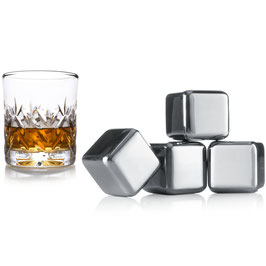 Whiskey Stones VACU VIN, 4er-Set