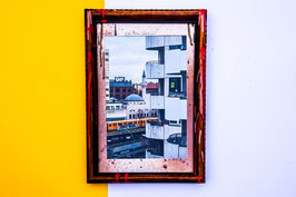 Handdesigned special wood frames ca. 30x40 - 40x50 (cm)