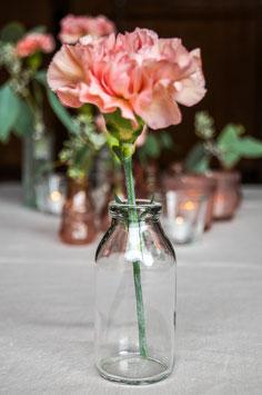 Vase klein klarglas