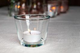 Teelicht klarglas
