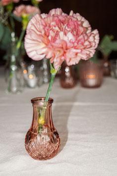 Vase klein mauve