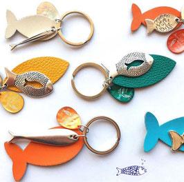 Porte clé poisson
