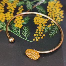 Bracelet Jonc Nacre ronde