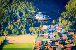 Exklusiver Helikopterflug zum Gut Schmelmer Hof - Bayerischer Wald