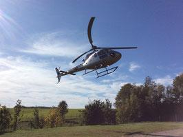 Exklusiver Helikopterflug zur Burg Staufeneck - Salach