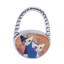 DER Taschenhaken Katzen Gesicht
