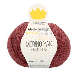 REGIA Premium 4-Fädig Merino Yak Pflaume meliert 07508